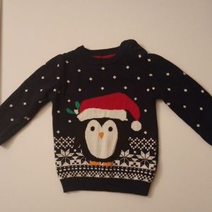 BABY PENGUIN SWEATER-Size 6-9 months